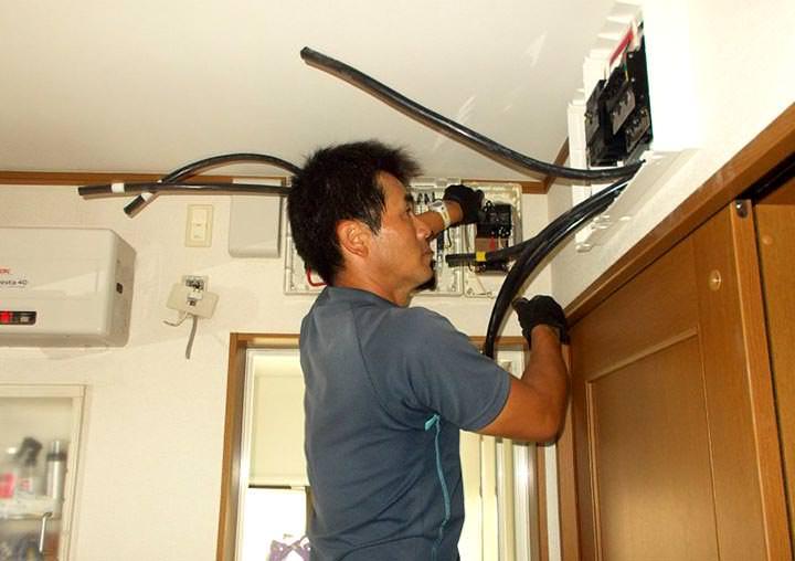 福岡県福岡市O様邸 充電器付き蓄電池設置