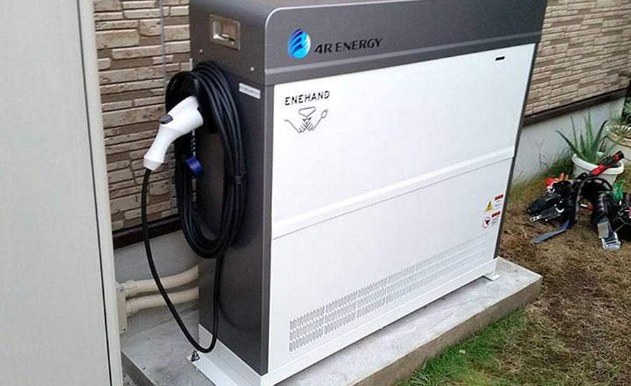 O様邸 福岡県福岡市 充電器付き蓄電池設置