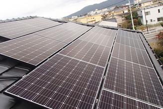 I様邸 長州産業太陽光発電設備工事