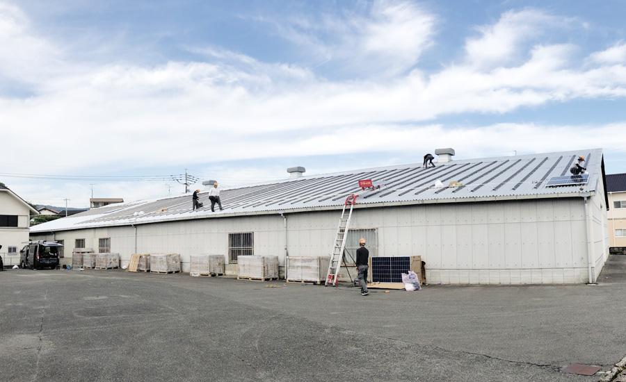 M社様 太陽光発電パネル設置工事 カナディアンソーラー