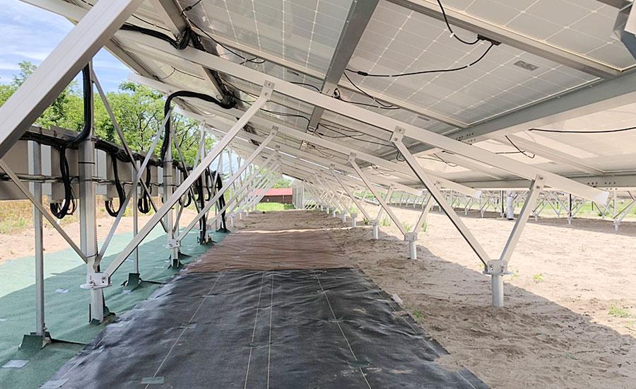 鳥取県鳥取市弓原東浜太陽光発電所