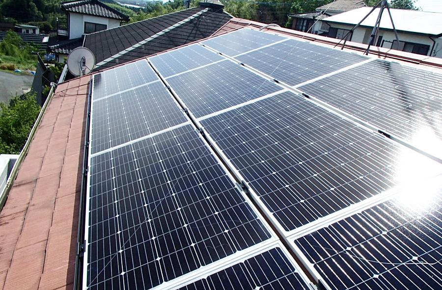 N様邸 Looop太陽光発電設備工事