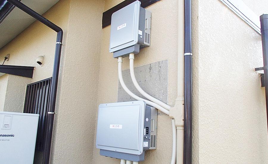 S様邸 福岡県福岡市 長州産業  ハイブリッド蓄電システム工事