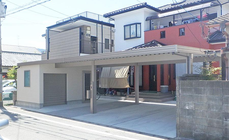 T様邸 福岡県福岡市 ソーラーカーポート設置